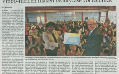 Eindhovens Dagblad besteedt aandacht aan Stichting Diversiteit en Techniek